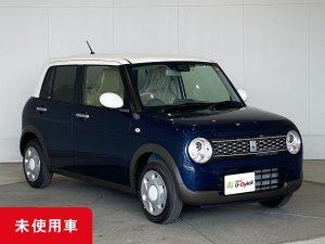 スズキ アルト ラパン モード 紺×白 未使用車