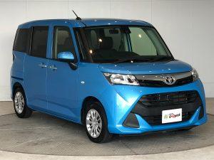 トヨタ タンク 青